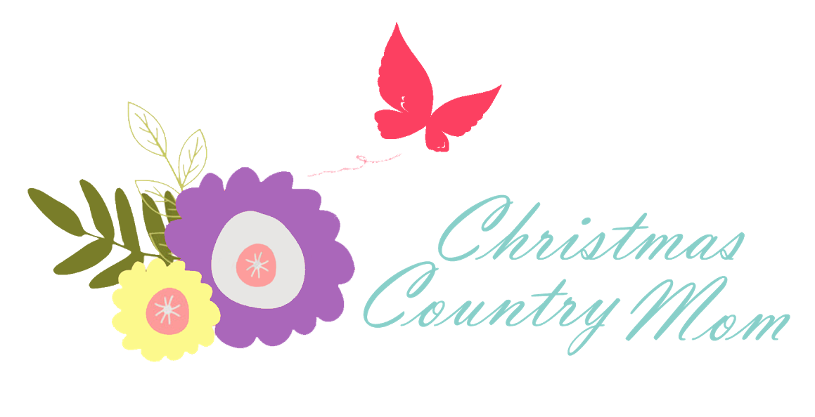 christmas country mom logo