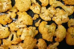 Roasted Seasoned Cauliflower