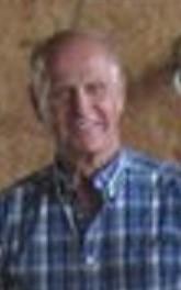 Dad at barn