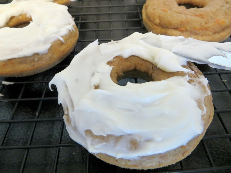 frost top of each donut
