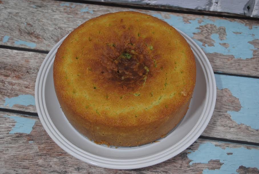 baked lime cake