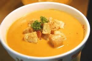 Vegan Carrot Peanut Soup