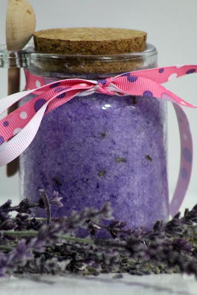lavender body scrub A