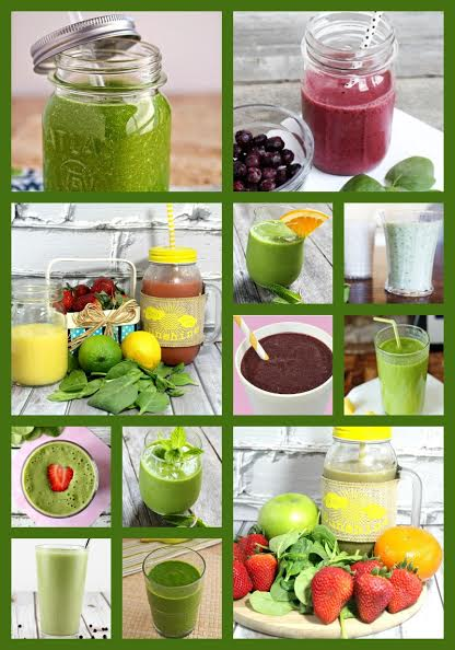 16 healthy smoothies with spinach