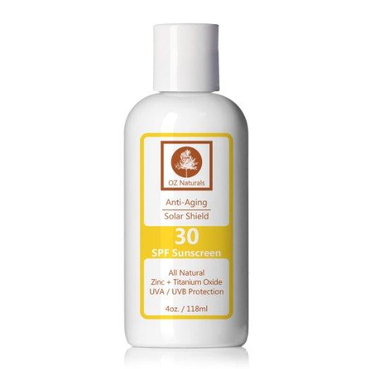 oz naturals sunscreen