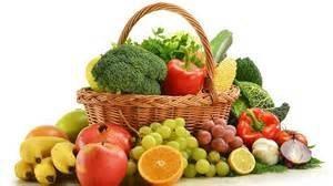 Vegan recipes basket